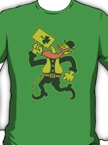 Saint Patrick's Irish Man Drinking Beer T-Shirt