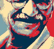 Mahatma Gandhi portrait Campaign Design  Sticker
