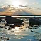 God's Rays -Wellington Point Qld by Beth  Wode