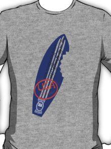 usa california surf tshirt by rogers bros T-Shirt