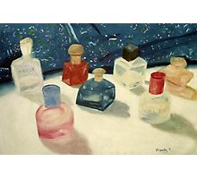 Perfume Bottles Photographic Print