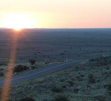 Mundi Mundi Sunset  by Topher Webb