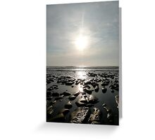 Afternoon At The Sea Greeting Card