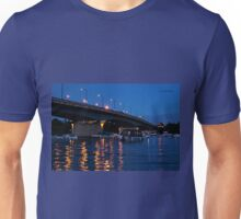 MacDonald Cartier Bridge at Night Unisex T-Shirt