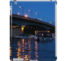 MacDonald Cartier Bridge at Night iPad Case/Skin