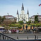 New Orleans- Jackson Square by eyeland
