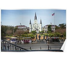 New Orleans- Jackson Square Poster