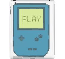 Pixel Gameboy - PLAY iPad Case/Skin