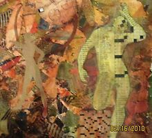 Man woman puzzle  by Patricia Cleasby
