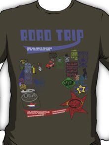 usa california road trip tshirt by rogers bros T-Shirt