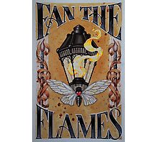 Fan the Flames (Lantern and Cicada) Photographic Print