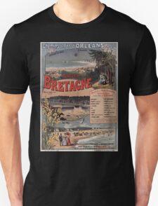 Gustave Fraipont Affiche PO Bretagne 1896 T-Shirt
