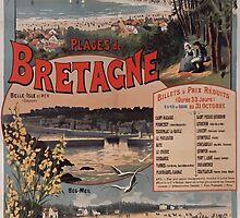 Gustave Fraipont Affiche PO Bretagne 1896 by wetdryvac