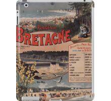 Gustave Fraipont Affiche PO Bretagne 1896 iPad Case/Skin