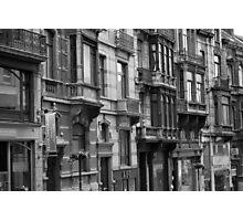 Belgium windows Photographic Print
