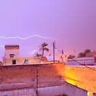 Lighting over Marrakech by philrwesty