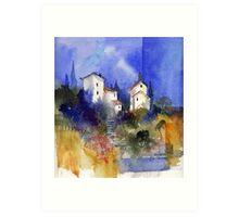 Tuscan Memories Art Print