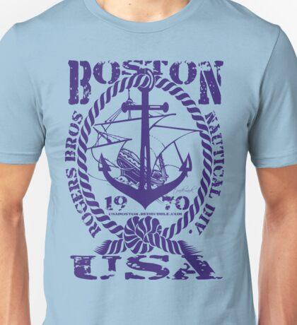 usa boston, ma tshirt by rogers bros Unisex T-Shirt