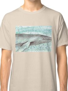 Whale vector Classic T-Shirt