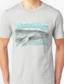 Whale vector Unisex T-Shirt