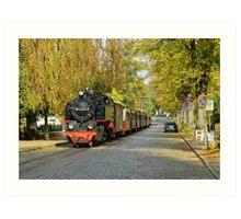 "MVP54 ""Molli"" in Bad Doberan, Germany. Art Print"