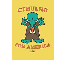 Cthulhu for America 2016 Photographic Print