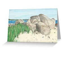 Cranberry Beach Greeting Card