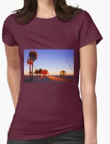 Miami South Beach sunset with lifeguard tower, Florida, USA T-Shirt