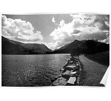 Llanberris Pass, North Wales Poster