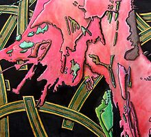 325 - STRING ART IV - DAVE EDWARDS - MIXED MEDIA - 2011 by BLYTHART