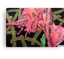 325 - STRING ART IV - DAVE EDWARDS - MIXED MEDIA - 2011 Canvas Print