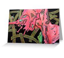 325 - STRING ART IV - DAVE EDWARDS - MIXED MEDIA - 2011 Greeting Card