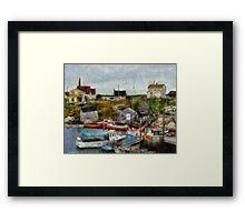 Nova Scotia Peggy's Cove Framed Print