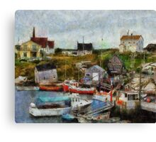 Nova Scotia Peggy's Cove Canvas Print