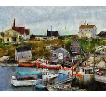 Nova Scotia Peggy's Cove Photographic Print