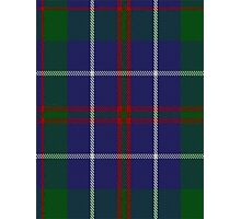 00493 MacHardy Blue Clan/Family Tartan Photographic Print