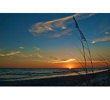 gulf sunset Photographic Print