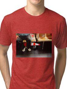 Caution - Skip Lunch Today Tri-blend T-Shirt