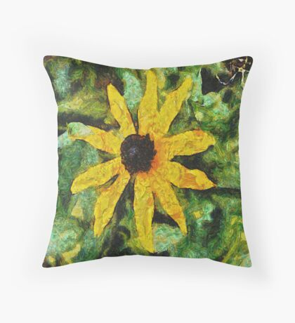 Flower 2 Throw Pillow