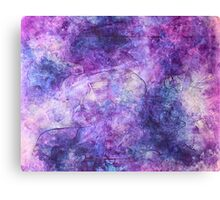 """Lost in Lilac"" - abstract impressionistic oil painting Canvas Print"