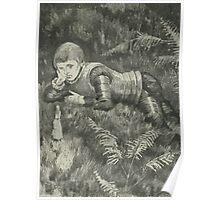 Theodor Kittelsen Illustration page1 Sagobok för barn Poster