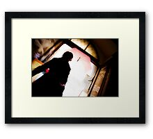 Expose Yourself Framed Print