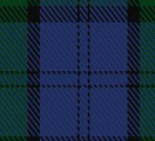 00494 MacKenzie (Vestiarium Scoticum) Clan/Family Tartan  Sticker