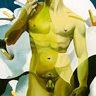 """""""Primavera Ocho"""" - human and floral subject combined by James  Knowles"""