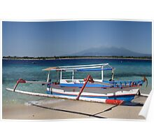 Indonesian boat Poster