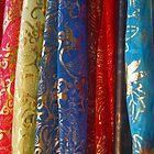 Silk scarves by Heather Thorsen