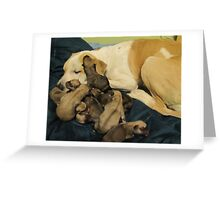 jerzy and babies Greeting Card