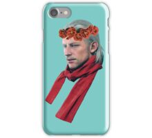 Phantom Pain Revolver Ocelot Flower Crown iPhone Case/Skin