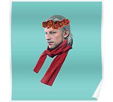 Phantom Pain Revolver Ocelot Flower Crown Poster