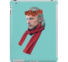Phantom Pain Revolver Ocelot Flower Crown iPad Case/Skin